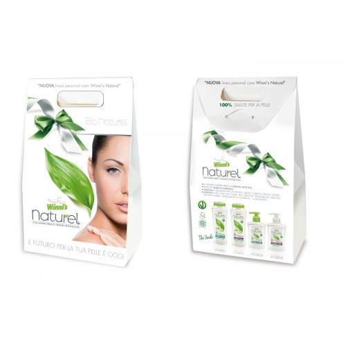 Ekologiškas Dovanų rinkinys Winnis su žaliąja arbata