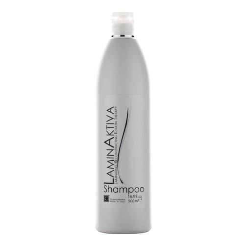 Plaukų šampūnas su keratinu LAMINAKTIVA, 500 ml
