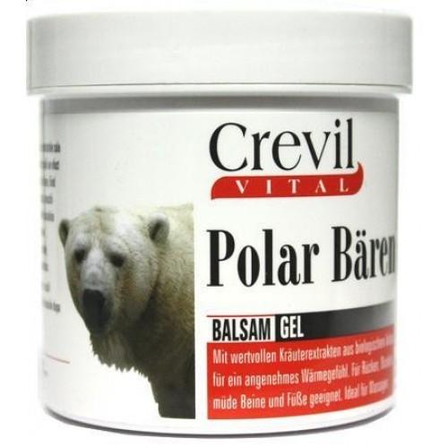 Baltųjų Lokių šildantis kūno balzamas CREVIL 250 ml