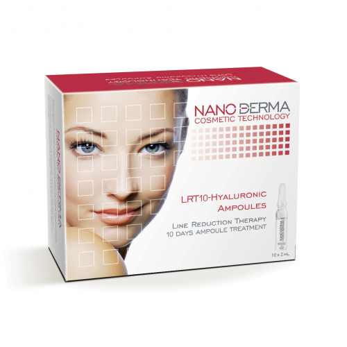 Hialurono rūgšties serumas NanoDerma® 2mlx10vnt