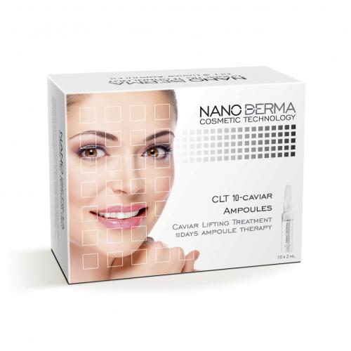 Stangrinamasis juodųjų ikrų serumas NanoDerma® 2mlx10vnt