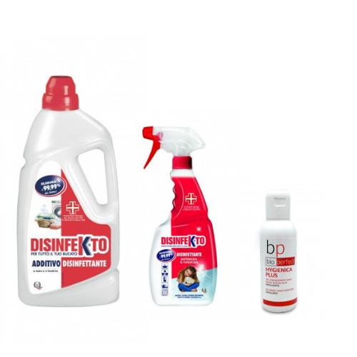 Sanitarinis rinkinys Disinfekto 3