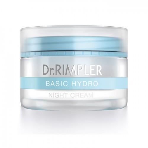 Naktinis maitinamasis veido odos kremas Dr.Rimpler 50ml