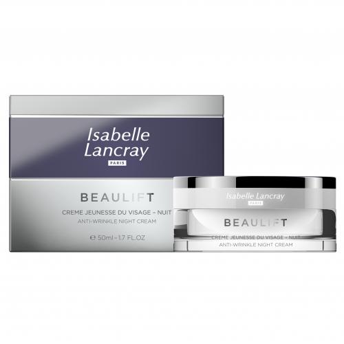 Priešraukšlinis botokso efekto naktinis kremas ISABELLE LANCRAY 50 ml