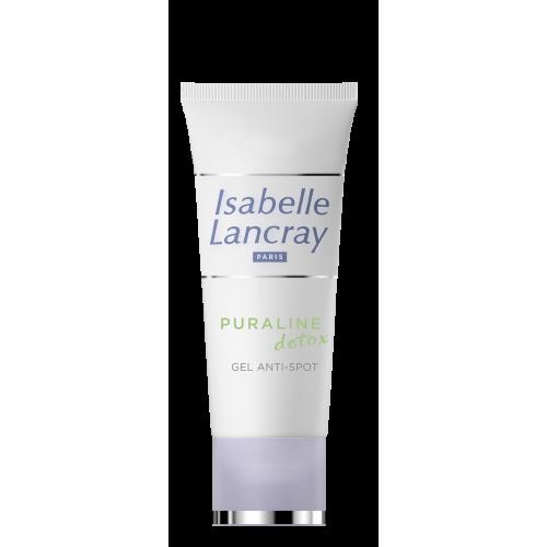 Toksinus valantis ir spuogus džiovinantis gelis Puraline Detox Gel Anti-Spot ISABELLE LANCRAY 15ml