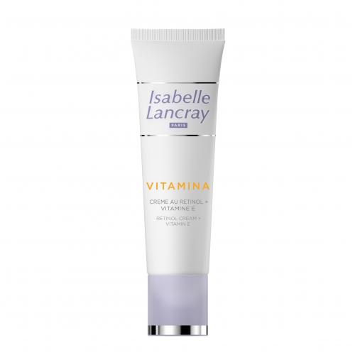 Priešraukšlinis kremas su retinoliu ir vitaminu E Isabelle Lancray 25ml