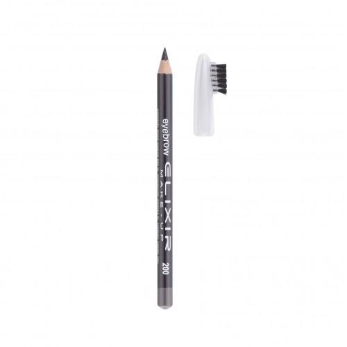 Antakių pieštukas ELIXIR pilkas NR.200