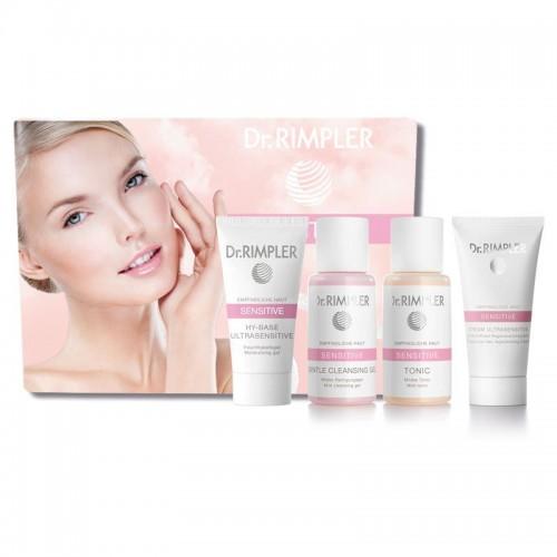 Ypatingai jautrios išsausėjusios odos SPA procedūrų kosmetikos rinkinys Dr. Rimpler