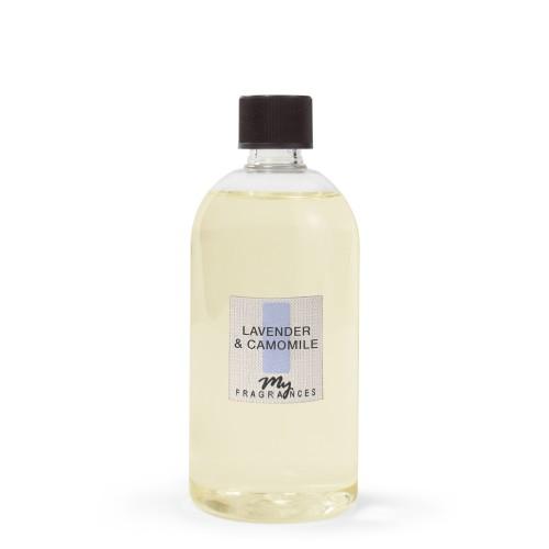 Namų kvapo MY FRAGRANCES Lavender & Camomille, papildymas, 500 ml