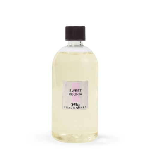 Namų kvapo MY FRAGRANCES Sweet Peonia, papildymas, 500 ml