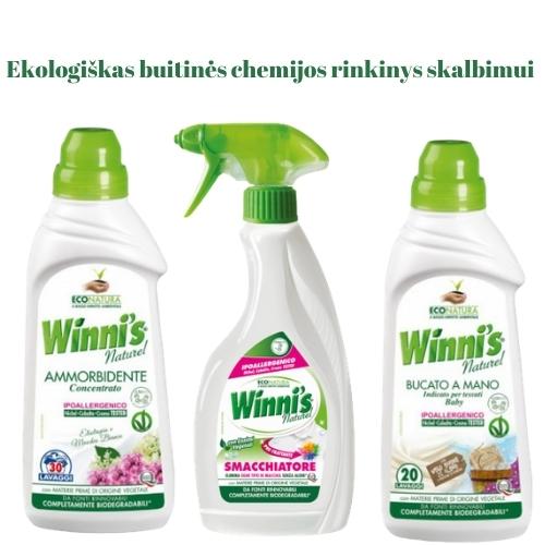 Ekologiškas Buitinės Chemijos rinkinys Skalbimui 2 Winni's