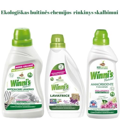 Ekologiškas Buitinės Chemijos rinkinys Skalbimui Winni's