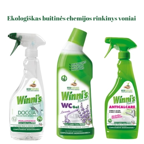 Ekologiškas Buitinės Chemijos rinkinys Voniai 2 Winni's
