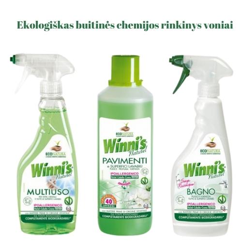 Ekologiškas Buitinės Chemijos rinkinys Voniai Winni's