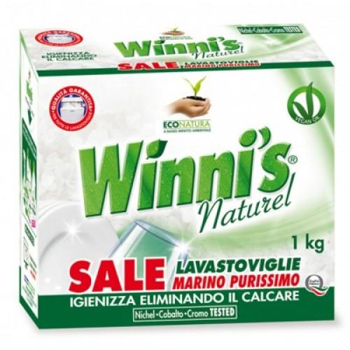 Ekologiška druska indaplovėms WINNI'S 1kg