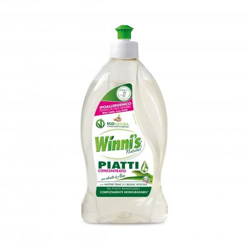Ekologiškas koncentruotas indų ploviklis WINNI'S alavijų aromato 500 ml