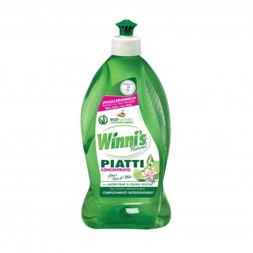 Ekologiškas koncentruotas indų ploviklis WINNI'S žaliųjų citrinų aromato 500ml