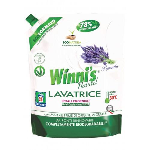 Ekologiškas skalbiklis WINNI'S Levandų aromato 1250 ml papildymas