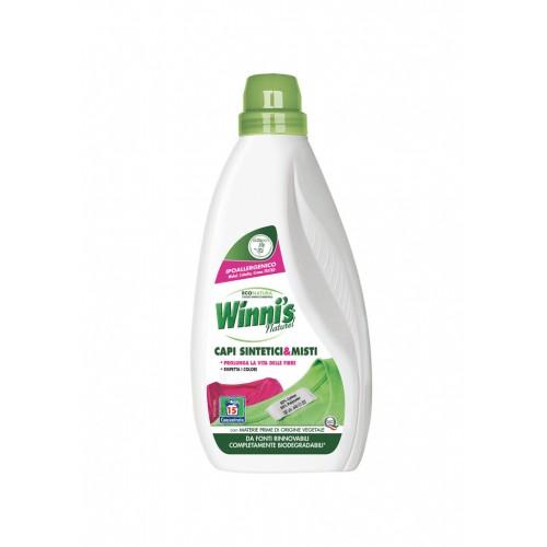 Ekologiškas skalbiklis sintetiniams ir mišriems audiniams WINNI'S 750 ml