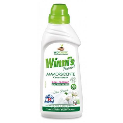 Ekologiškas skalbinių minkštiklis WINNI'S baltojo muskuso aromato 750ml