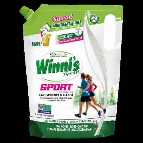 Ekologiškas skalbiklis sporto drabužiams Winni's 800ml