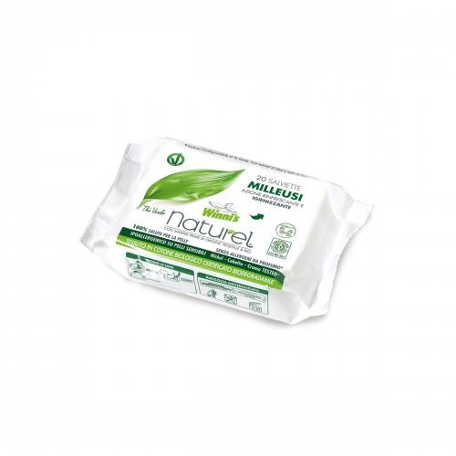 Ekologiškos drėgnos higieninės servetėles WINNI'S 20 vnt.