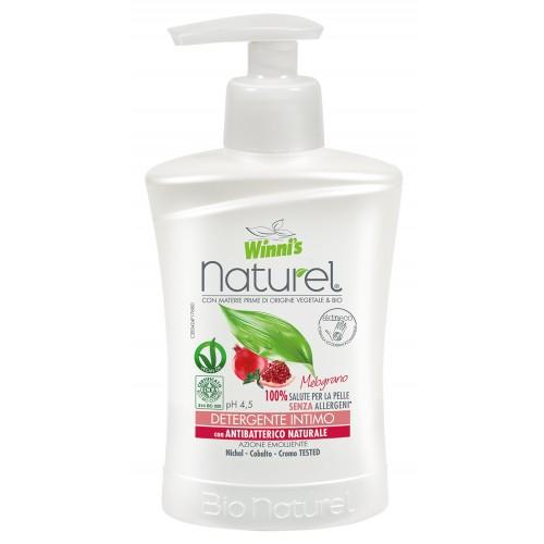 Ekologiškas intymios higienos prausiklis WINNI'S, su granatais, 250 ml