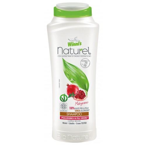 Ekologiškas plaukų šampūnas WINNI'S, su granatais, 250 ml